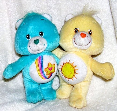 100% garantía genuina de contador 2003 Cochee Bears 7 Plush Cuddle Pairs Pairs Pairs - Thanks a Lot and Funshine Bear by Jugar Along  para mayoristas