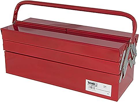 Wurko TT5720 Caja para Herramientas, Rojo, 55 cm: Amazon.es ...