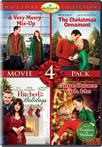Hallmark Holiday Collection (A Very Merry Mix-Up, The Christmas Ornament, Hitched For the Holidays, Come Dance With Me) (Movies 2019 Abc Christmas)
