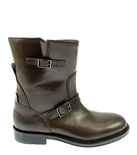 d29e9fad75c6 HUGO BOSS Shana Damen Women Schuhe Stiefeletten Boots Shoes Leder Made in  Italy (40)