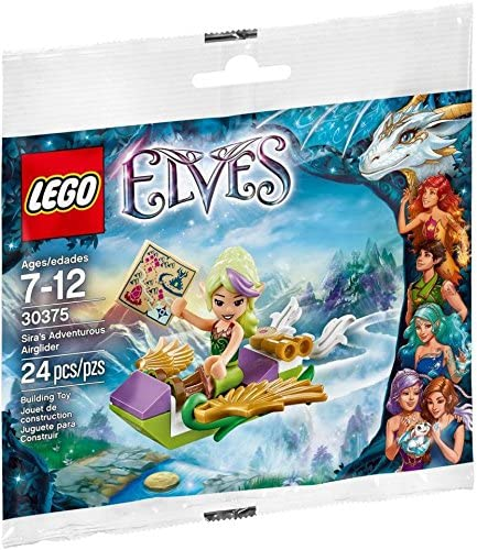LEGO Elves Sira\'s Adventurous Airglider Set (30375) Bagged