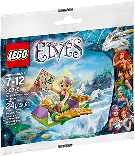 LEGO Elves Siras Adventurous Airglider Set (30375) Bagged