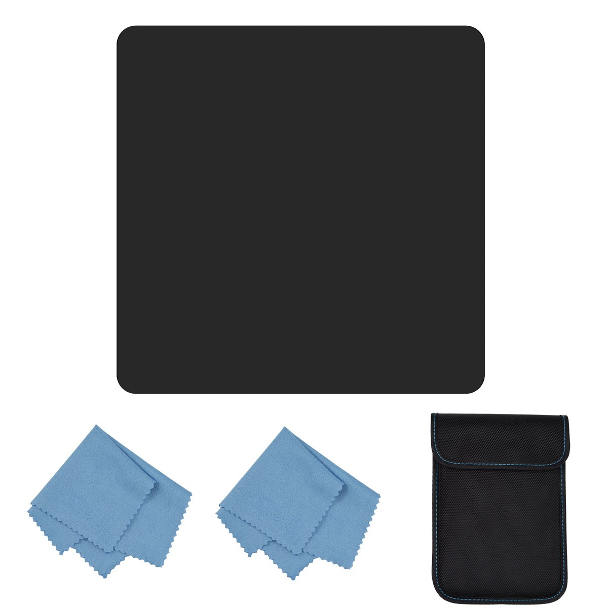 SIOTI Glass Square Filter for Cokin Z Lee Hitech Sioti Holder (100mm100mm, ND64) by SIOTI