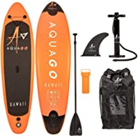 """Wido 9.9"""" Aquago Hawaii Inflatable SUP Kids Paddle Board ISUP Surf Complete Kit Childrens Junior Youth"""