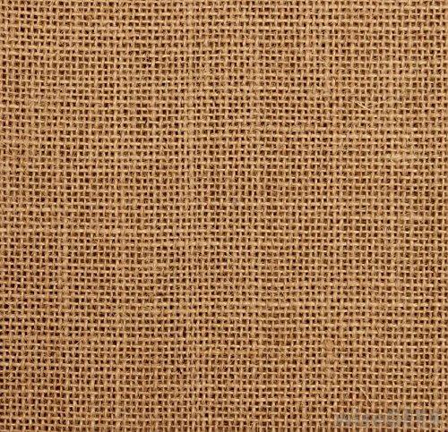 Sac de courses en toile de jute Classique Avec poign/ées en fil de coton Lot de 10