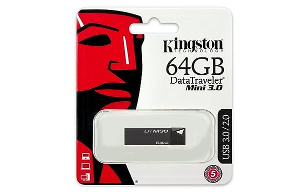 Kingston Data Traveler Mini 64GB USB3.0 Pen Drive Pen Drives at amazon