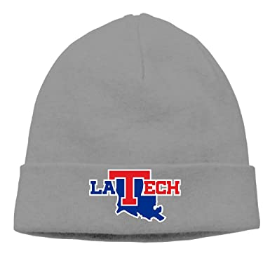 Louisiana Tech Bulldogs La. Tech Winter Hats Unisex Adjustable Cap  Toboggan c8a6825da540