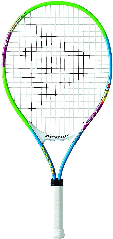 Dunlop 2 x Junior Includes Ball Options Tennis Rackets 19, 21, 23, 25