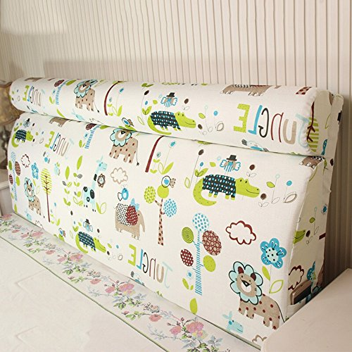 Bedside back pad / solid wood bed soft bag / bed back to the bag can be washed and washed ( Size : 16060cm ) by Cushion
