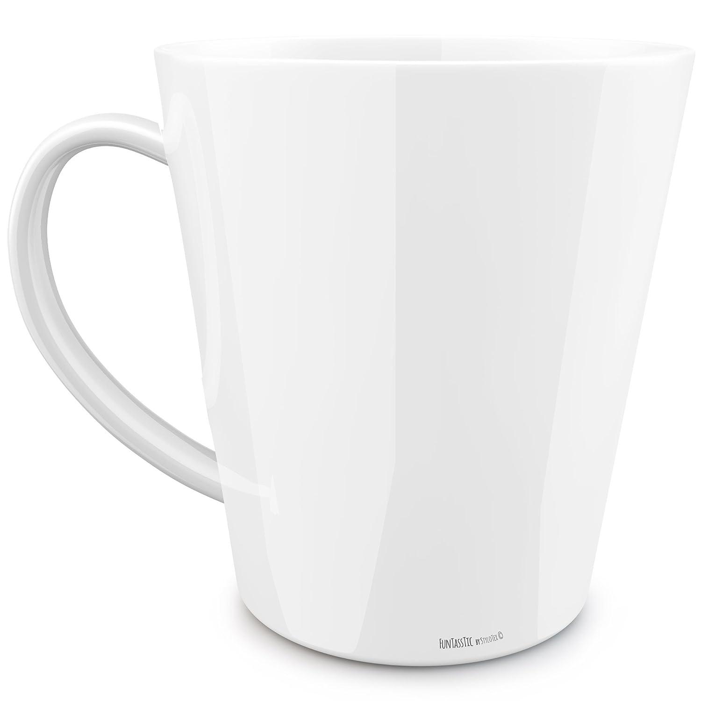 Funtasstic konische Tasse Du Kannst Kaffeepott 300 ml
