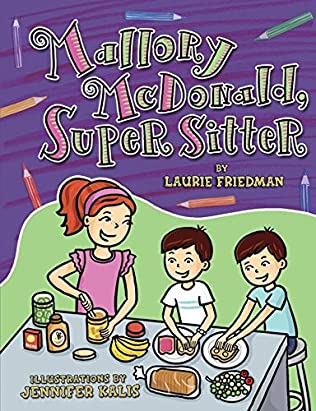 book cover of Mallory McDonald, Super Sitter