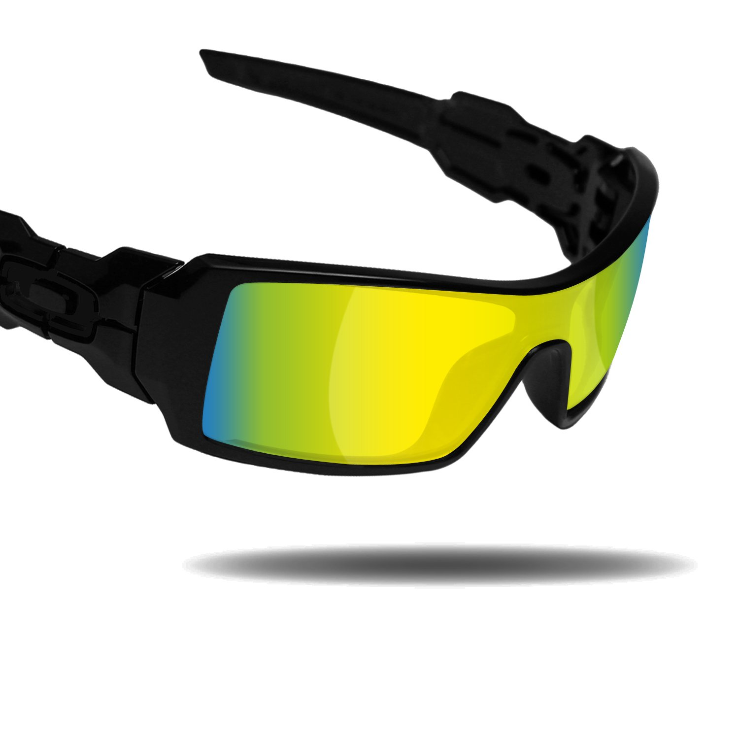 7f358e44f61 Amazon.com  Fiskr Anti-Saltwater Replacement Lenses for Oakley Oil Rig  Sunglasses - Various Colors  Clothing