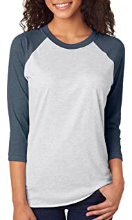 84cd59761aaae Bella Canvas Unisex Jersey 3 4 Sleeve Baseball Tee at Amazon Men s ...