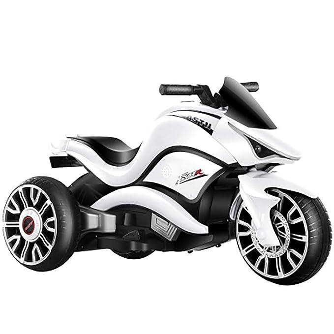 W&HH Motocicleta Electrica Infantil,Moto Electrica Bebe,Triciclo ...