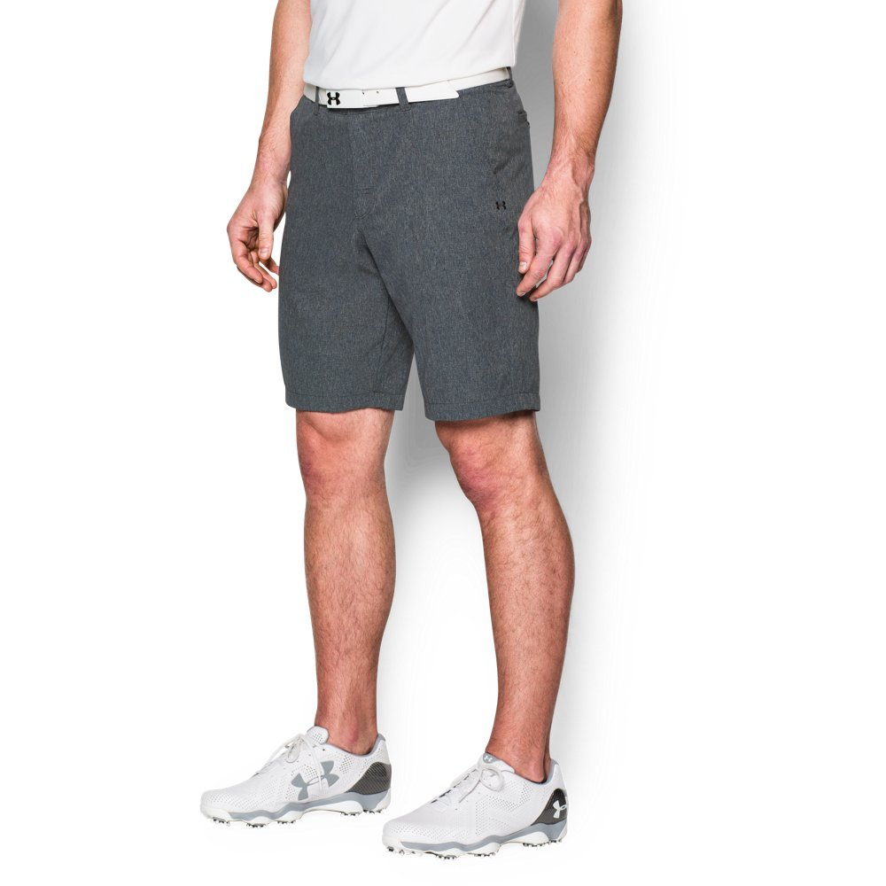 Under Armour Men's Match Play Vented Shorts, Stealth Gray (008)/Stealth Gray, 30