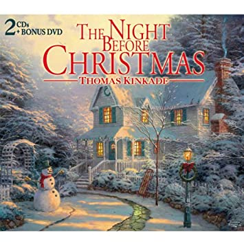 Thomas Kinkade - Thomas Kinkade: Night Before Christmas - Amazon ...