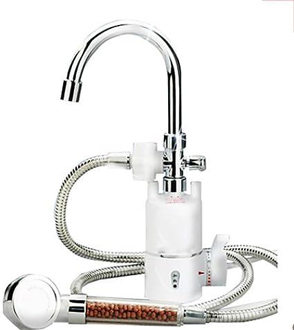 Agua Caliente InstantáNea Grifo Cocina De La Ducha CalefaccióN RáPida Calentador De Agua EléCtrico Calentador InstantáNeo