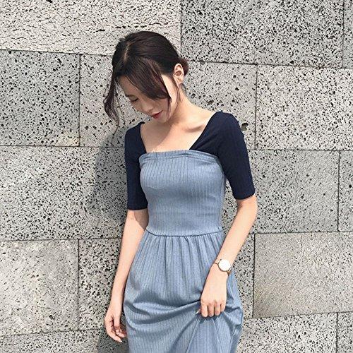 Moda De Hada Sukol Sin Cwj Verano Un Vestido Respaldo xPUTfRwqX