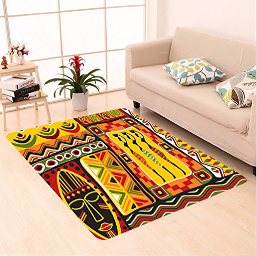 Somerset Multi Colored Rectangle Rug - 7