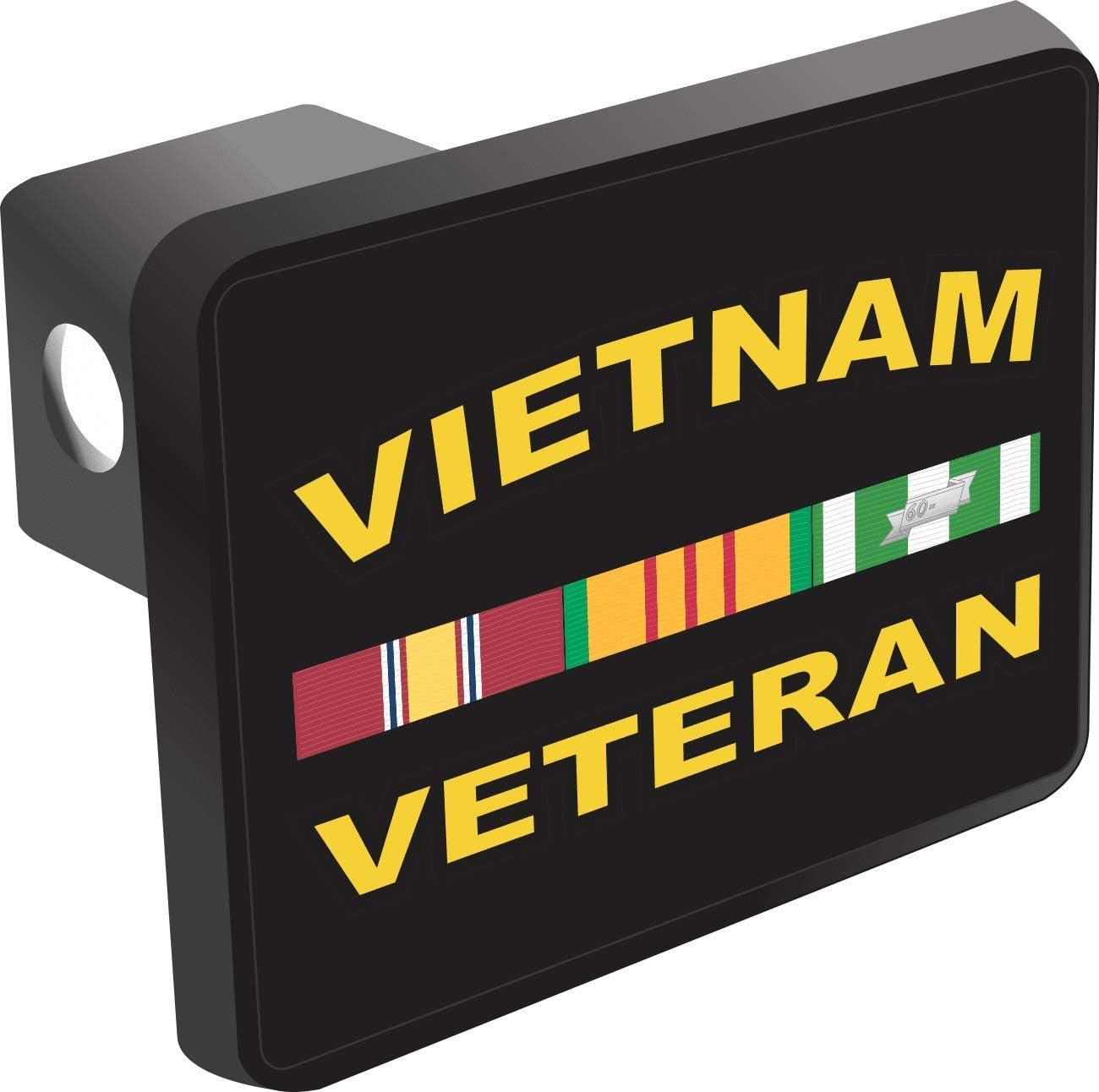 MilitaryBest Vietnam Veteran Trailer Hitch Cover