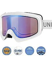 Unigear Skibrille, Skido X1, Snowboard Brille Schneebrille, UV-Schutz Beschlagschutz Augenschutz Anti-Schwindel, für Herren Frauen und Kinder, MEHRWEG