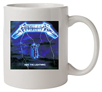 Metallica Lightning The Parody Cat Ride Mug Funny wP0OnX8k