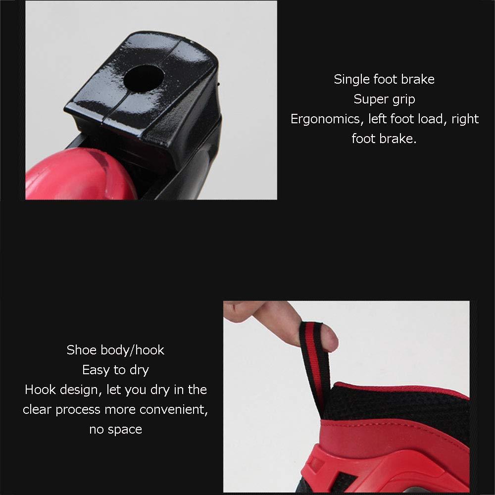 Verstellbare einreihige einreihige einreihige Schlittschuhe, sichere und Bequeme, atmungsaktive Rollschuhe, Indoor-   Outdoor-Fitness-Rollschuhe, Kindergeschenke B07QP7P8BJ Inline-Skates & Rollschuhe Die erste Reihe von umfassenden Spezifikationen für Kunden 515f05