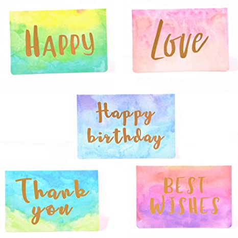 Amazon 40 greeting cards with envelopes 33x5 blank inside 40 greeting cards with envelopes33x5quot blank inside happy birthday cardslove m4hsunfo