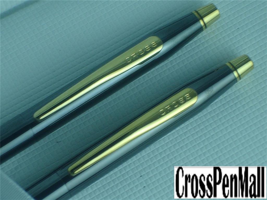Cross Classic Century Titanio y 23 quilates de oro y mina bolígrafo mina y de 0,5 mm Set de lápices 864a82