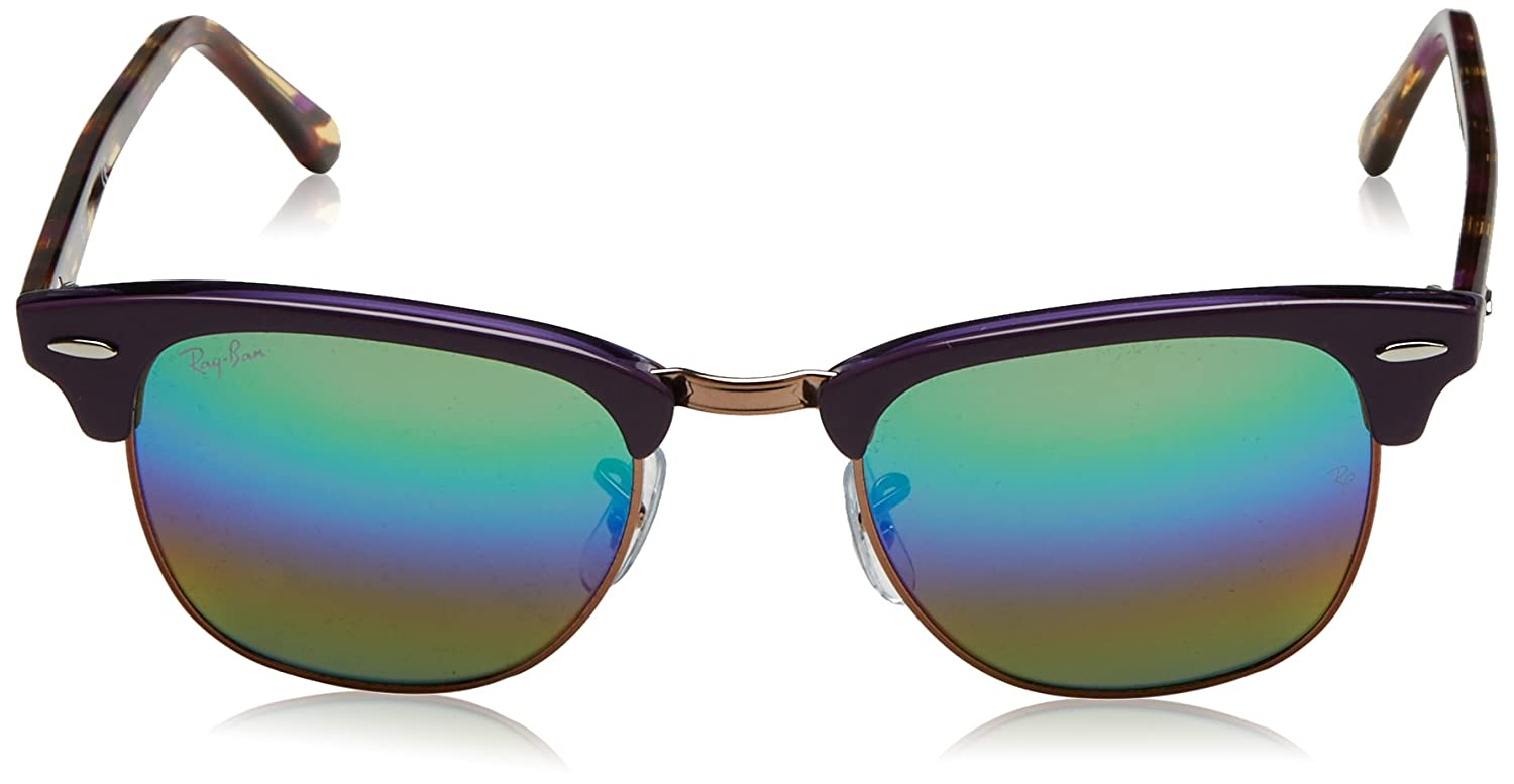 Amazon.com  Ray-Ban RB3016 Classic Clubmaster Sunglasses  Clothing f01332b7e832