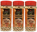 Natural Earth Chickpeas - Garbanzos - Certified Kosher- Good Source Of Fiber - Resealable Container - 16 Oz (3 Pack)
