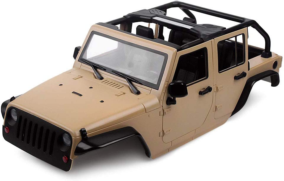 INJORA RC Karosseriehalterung 4pcs RC Car Body Shell Mount L-Bracket mit Magnet f/ür 1:10 RC Crawler Car Axial SCX10 90046 D90