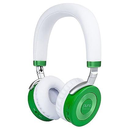 Puro Sound Labs JuniorJams Auriculares en la Oreja Auriculares Plegables inalámbricos para niños con Bluetooth,