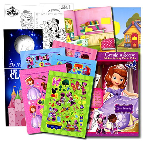 Disney Girls Stickers Activity Book; Minnie Mouse Stickers,