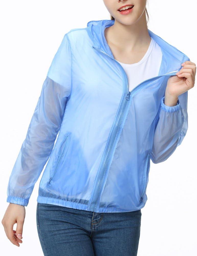 Tops de Pesca para Mujer al Aire Libre de Color sólido Camisa de protección Solar Protección UV Manga Larga Camisetas Camisa de Senderismo de Secado rápido con Capucha: Amazon.es: Ropa y accesorios
