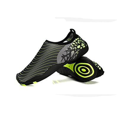 LAROK Men And Women's Quick-Dry Sport Barefoot Water Shoes Black Socks For  Beach Surf