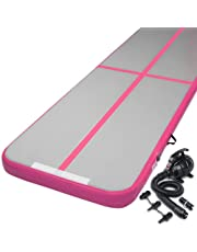 Everfit Air Track Mat Gymnastics Exercise Inflatable Mat with Electric Air Pump