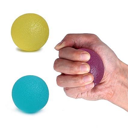 Bolas de Estrés pelota, terapia de mano Squeeze estrés pelota mano ...