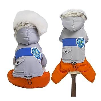 Amazon.com: MUYAOPET - Traje de nieve para perro de invierno ...