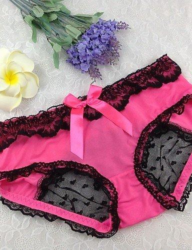 CA & Mujer Sexy Encaje Braguitas Boy pantalones cortos & Slip Ropa Interior Lencería Femenina de