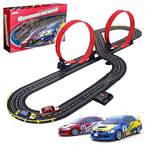 Artin 143 Scale Ultimate Express Slot Car Racing Set (Slot Car Set)