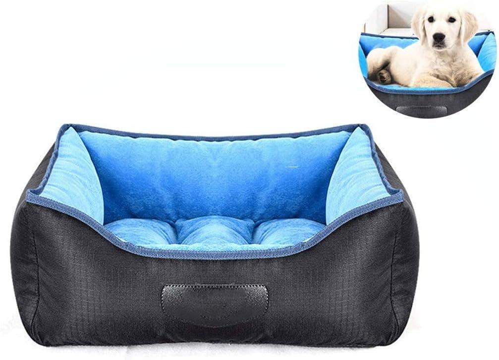 SCDCWW 犬用ベッド、フード付き、洗濯機で洗える、ペットサイズ別ヴィラベッド (Size : S)  Small