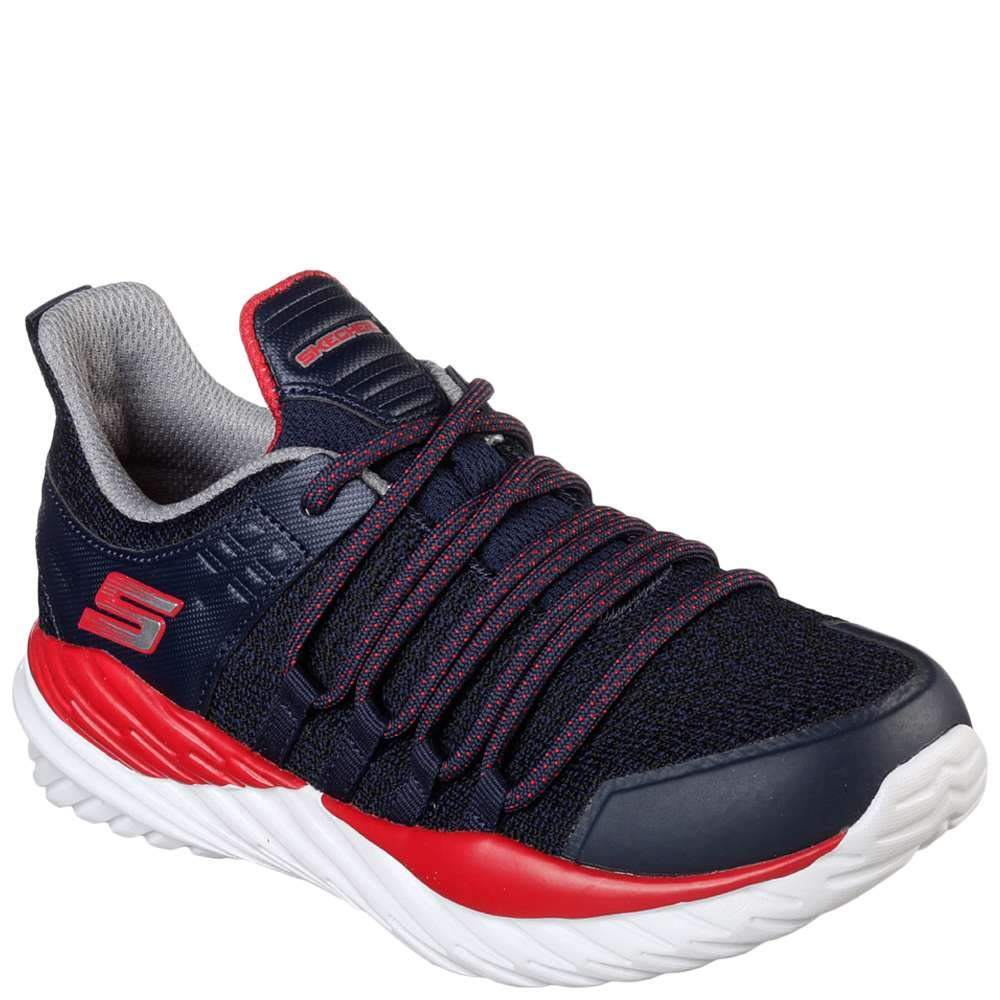 Skechers Kid's Nitro Sprint Boys Cross Training Shoes Navy/Red