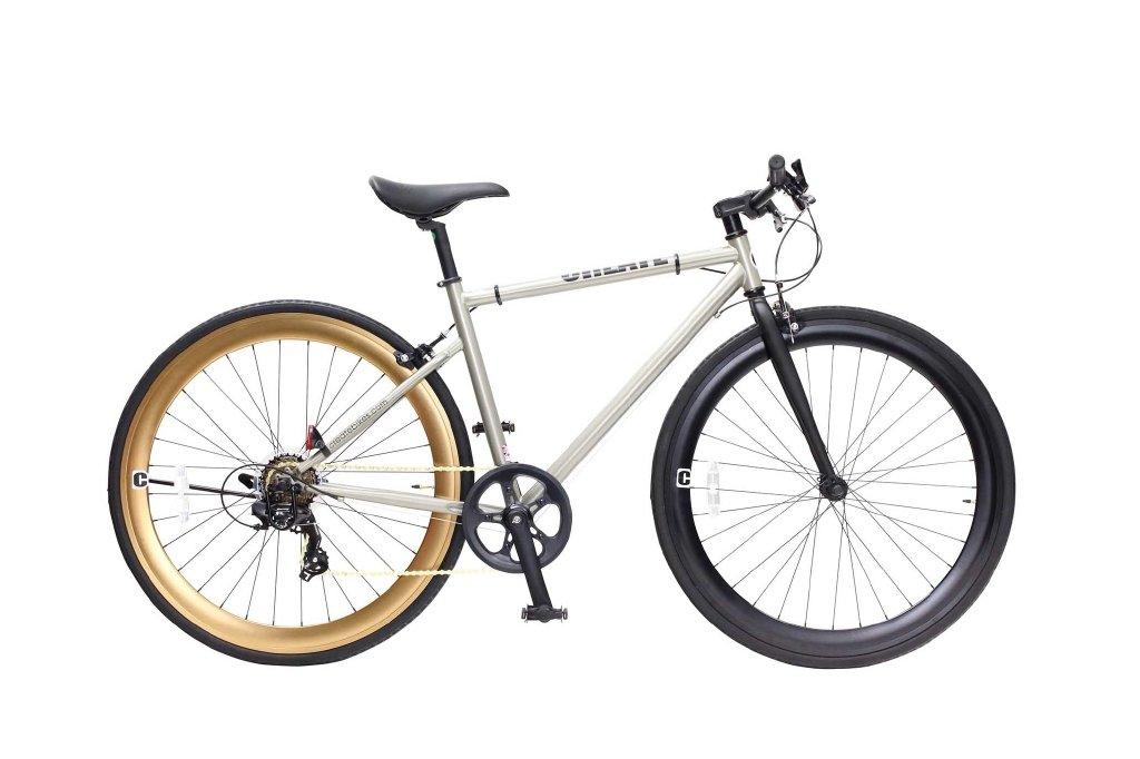 『5年保証』 CREATE 700C CREATE クロスバイク外装7段 B07B1Y6R3D C310-(460)-CGD(シャンパンゴールド) B07B1Y6R3D, Hiigoo 【ヒーゴー】:faa9f9d2 --- greaterbayx.co