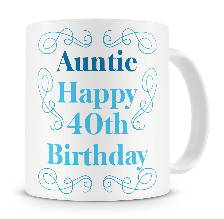 Auntie, Happy 40th Birthday\