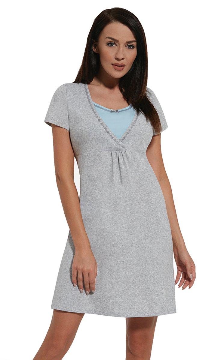 Nitis Umstandsmode Nightwear Nachthemd Nursing Schwangerschaft Stillfunktion