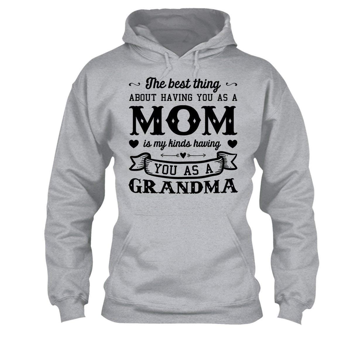 Cool Long Sleeve Shirt I Love My Mom Tee Shirt