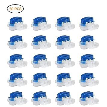 Neborn Conectores de Alambre de 20 Piezas llenos de resinas, Conectores Originales 314 - Conectores/Bloques de terminales Jardines y Exteriores, Robot ...