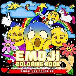 Amazon.com: Emoji Coloring Book: Fun Emoji Designs, Collages and ...