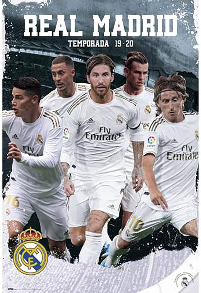 PLAYERS #25 Poster Official Licensed Real Madrid
